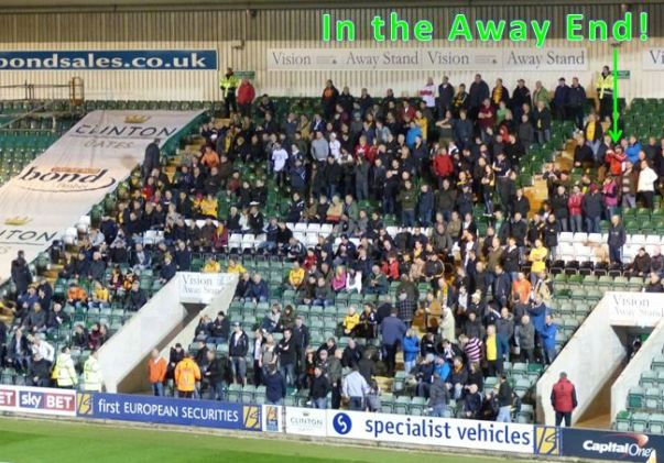argyle v county away fans2
